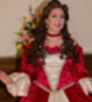 Belle Christmas Costume Holiday Business Event