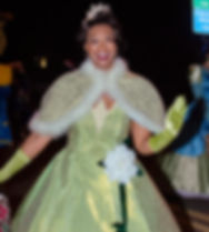 Tiana Princess and the Frog birthday party