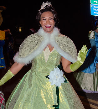 Tiana Princess and the Frog birthday party character
