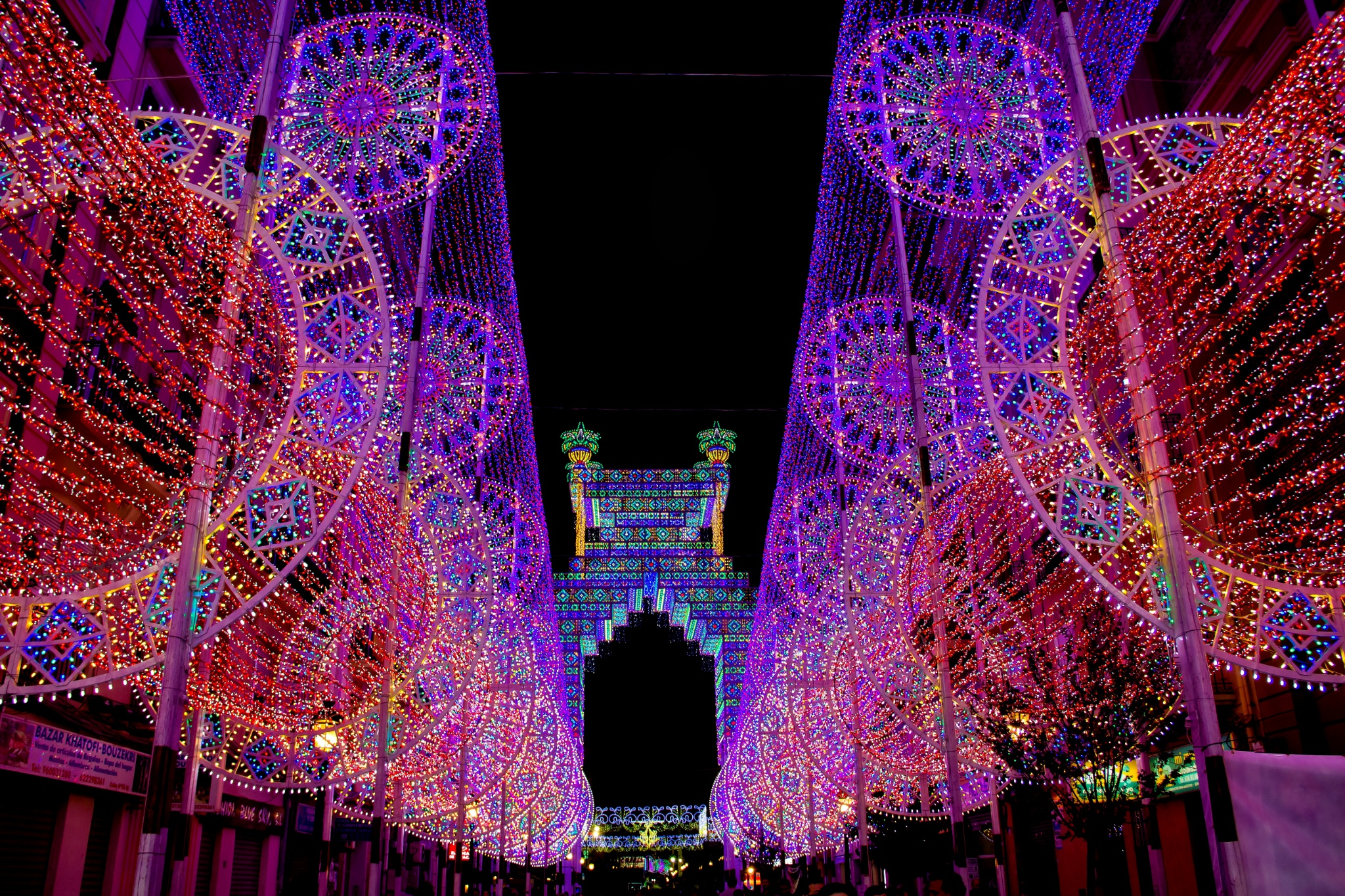 Candy Lights - Fallas 2015