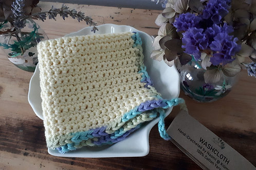 Lemon & Blue Multi Face/Wash/Dish Cloth