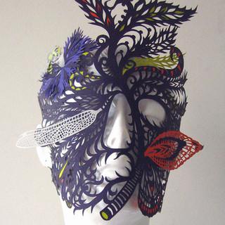 Daphne Mask (on a manequin head)