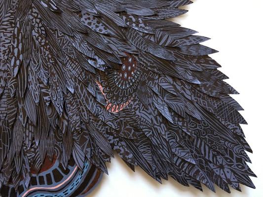 Black Orchid -detail