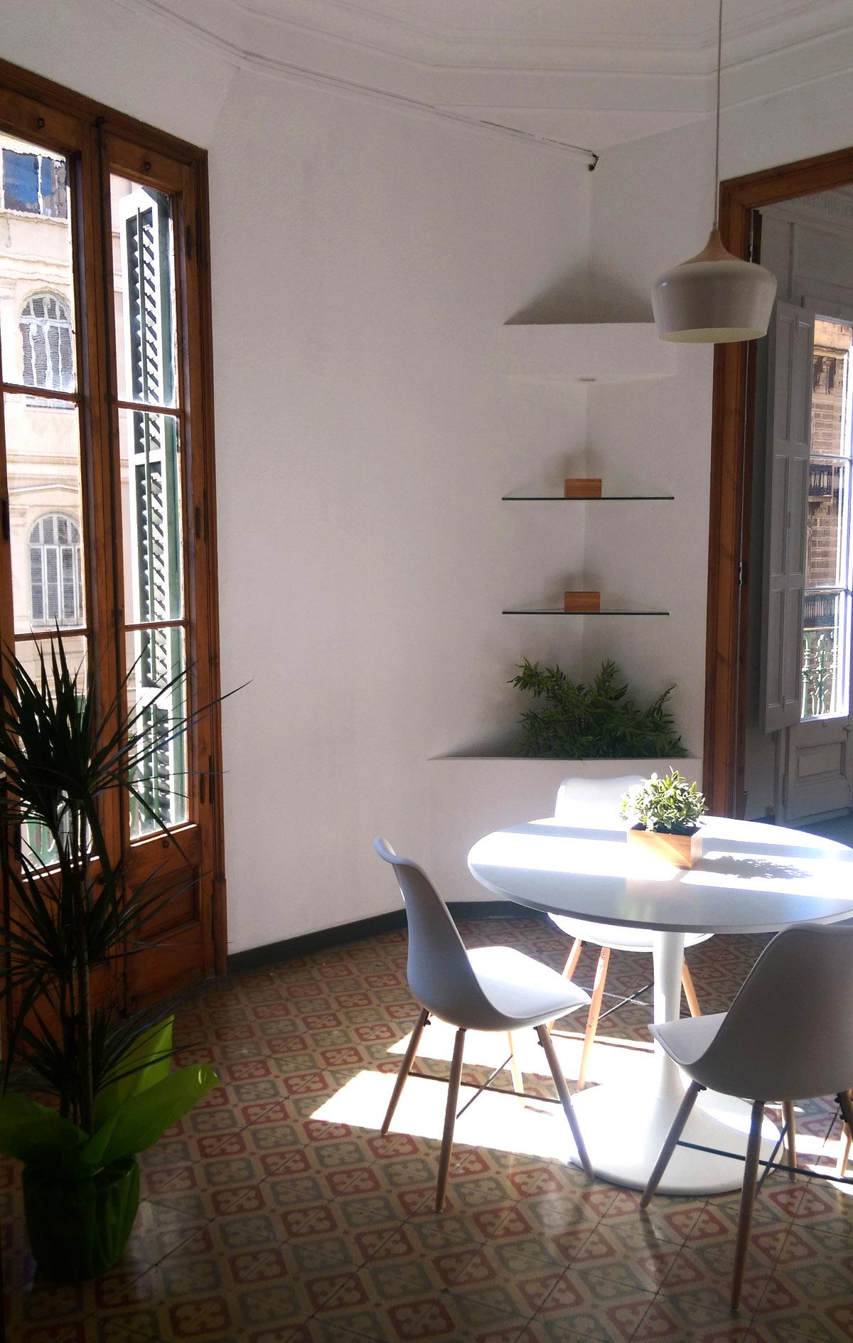 informal meeting room