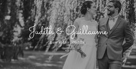 Mariage de Judith et Guillaume