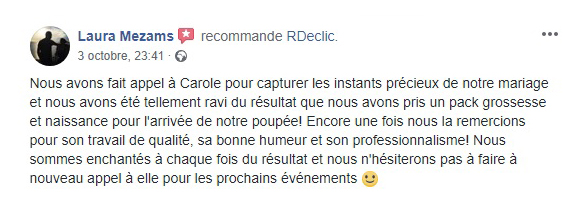 RDECLIC Avis - Photographe Cergy Paris