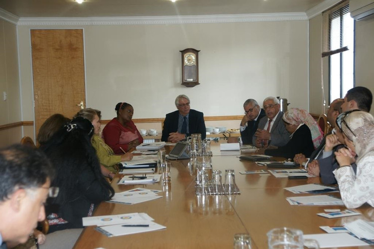 Egyptian Delegation to South Africa