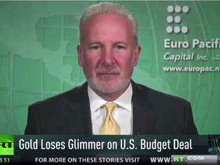 Peter Schiff: If You Understood What This Means, You Would Be Buying Gold as Fast as You Can