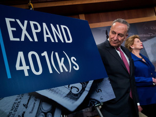 Congress Has a Dangerous Idea for Your 401(k)