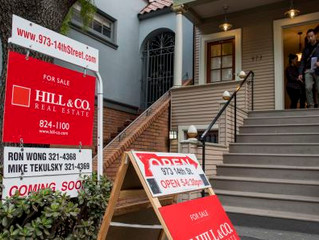 The unusually large drop in home sales has real estate agents baffled