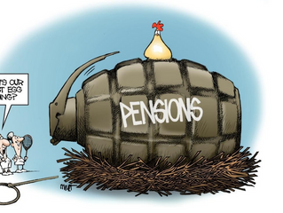 """The government """"can't find"""" $20 trillion, while pension funds are tanking"""