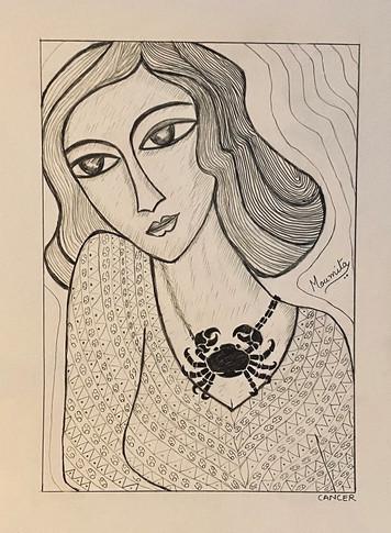 Zodiac Woman - Cancer