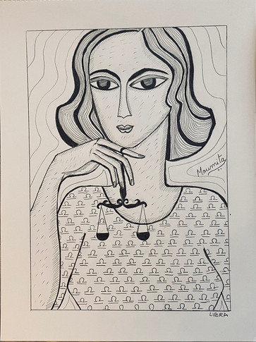 Zodiac Woman - Libra