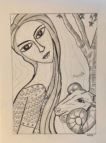 Zodiac Woman - Aries