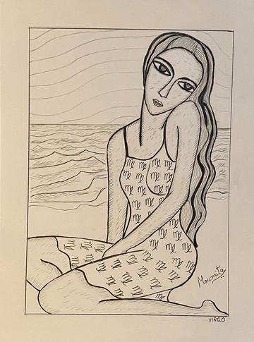 Zodiac Woman - Virgo