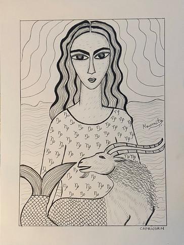 Zodiac Woman - Capricorn