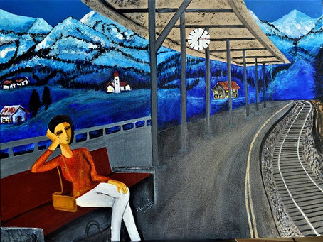 Life...train...station...tracks