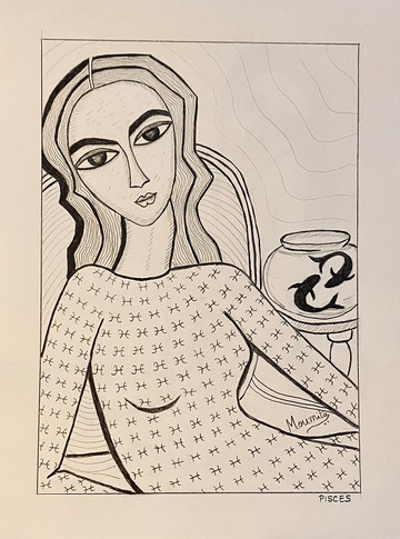 Zodiac Woman - Pisces