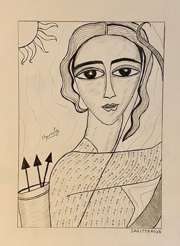 Zodiac Woman - Sagittarius