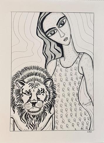 Zodiac Woman - Leo