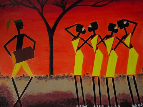 Santhali Dancers