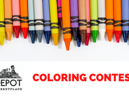 Enter the Depot Marketplace Coloring Contest