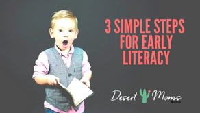 3 Simple Steps for Early Literacy