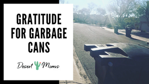 Gratitude for Garbage Cans