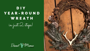 DIY Year-Round Wreath: In Just Two Steps!