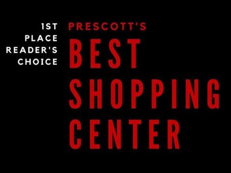 Voted #1 Shopping Center in Prescott