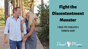 Fight the Discontentment                        Monster This Holiday Season