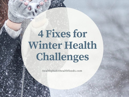 4 Fixes for Winter Health Challenges