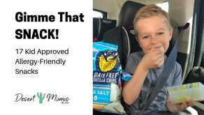 Gimme that SNACK! 17 Kid Approved Allergy-Friendly Snacks