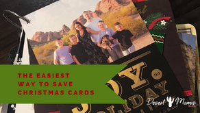 The Easiest Way to Save Christmas Cards