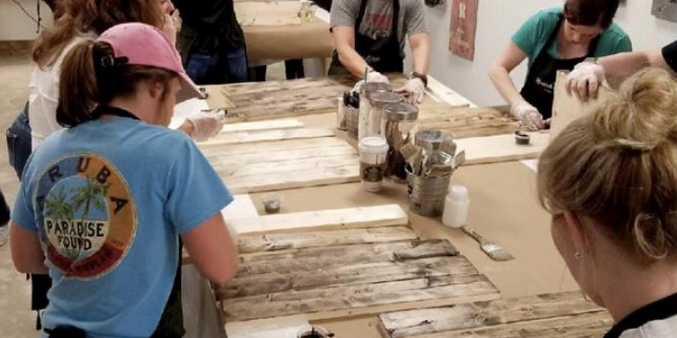 DIY Wood Sign Workshop with ALL Gluten Free Food!!