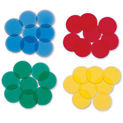 Counting Chips - Set of 4 colors