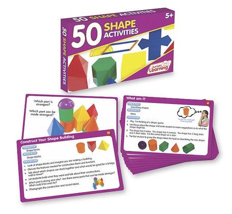 50 Shape Activities