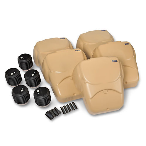 CPR Prompt® Compression Chest Manikins, Pack of 5 - Tan