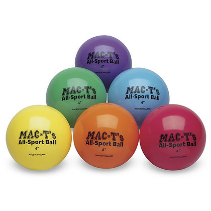 All-Sport Ball Set, 4 inch,  Set of 6 colors