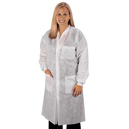 Disposable Laboratory Coat, Medium