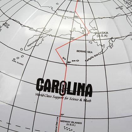 Carolina® Writable Inflatable Globe, 12 inch