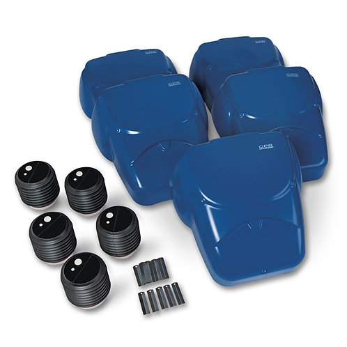 CPR Prompt® Compression Chest Manikins, Pack of 5 - Blue