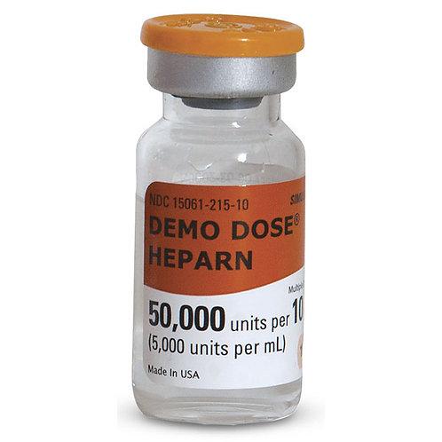 Demo Dose® Heparin - 5,000 u/ml