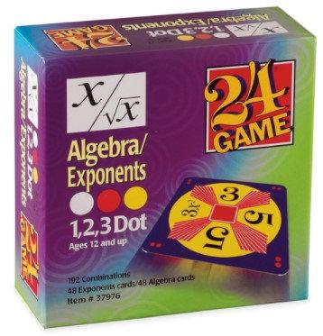 24® Game - Algebra/Exponents