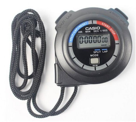 CASIO Digital Stopwatch  HS3