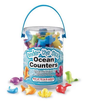 Fun Counters™ - Under the Sea Ocean, Set of 72