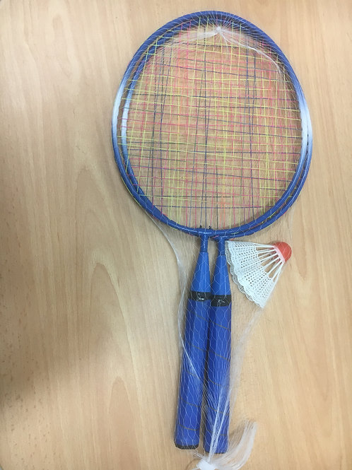 Badminton Racket with Short Handle, a pair
