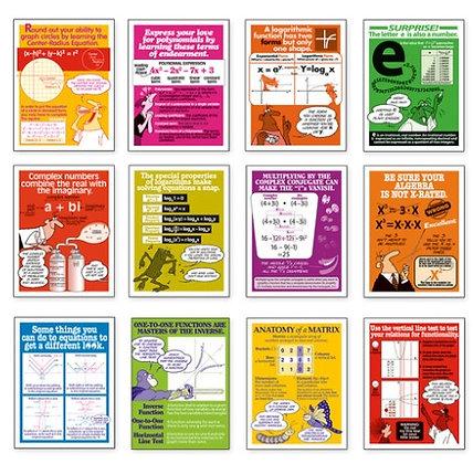 Advanced Algebra Posters Set