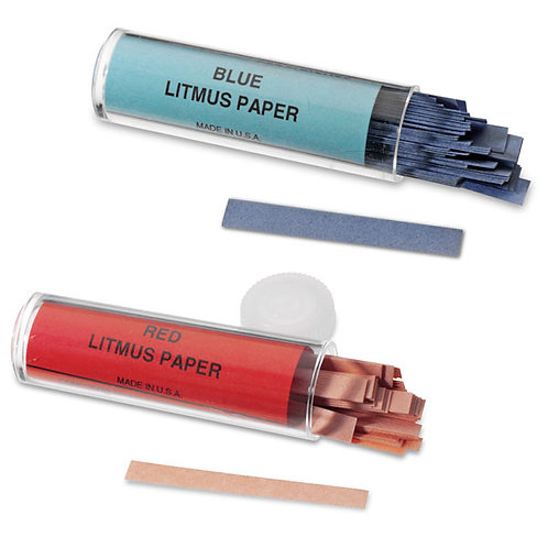 Litmus Paper Strip, Blue and Red, pk/200