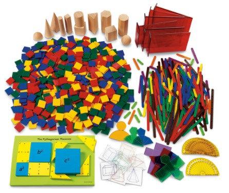 Geometry Kit, Grades 6-8 - For NASCO Mobile Math Cart
